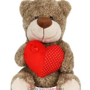 Мягкая игрушка Медведь Брэд 20 см S613/20A ТМ Коробейники